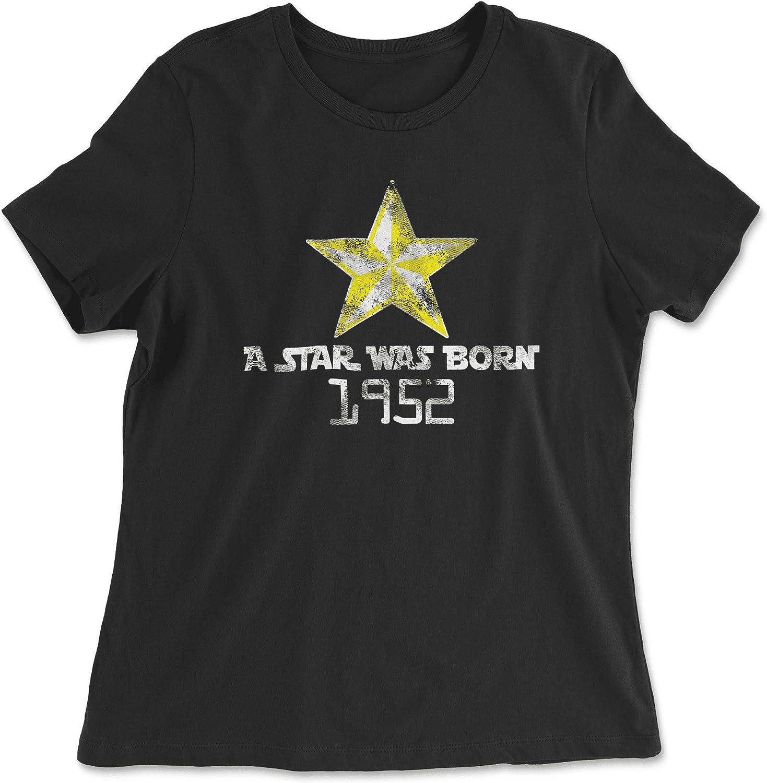 HARD EDGE DESIGN Women's A Star was Born 1952 T-Shirt