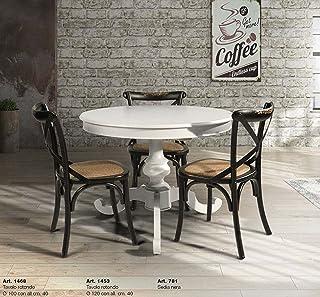 Amazon.it: tavolo rotondo allungabile bianco