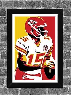 ICONIC Kansas City Chiefs Patrick Mahomes Portrait Sports 11x17