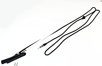AntennaMastsRus - Retractable Manual Antenna is Compatible with (Toyota Tercel - Paseo - Corolla - Camry - Previa - HiAce - Hilux) (Geo Prism - Tracker) (Subaru Impreza - Loyale)