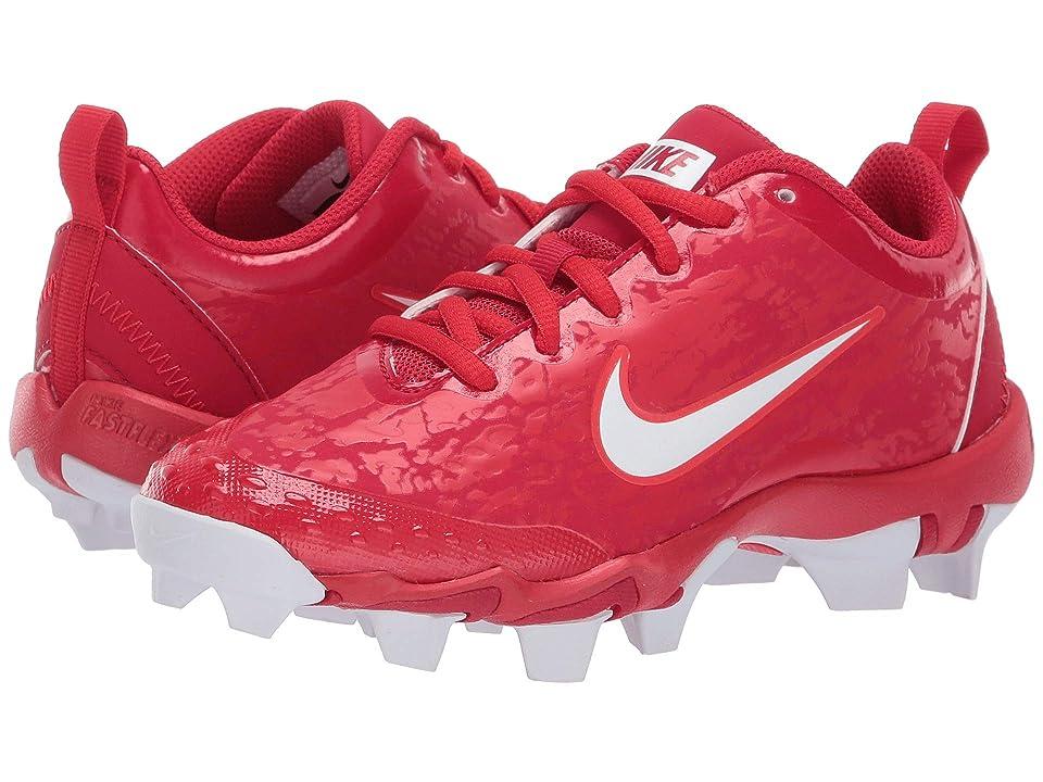 Nike Kids Hyperdiamond 2.5 Keystone Baseball (Toddler/Little Kid/Big Kid) (Gym Red/White/University Red/Light Crimson) Kids Shoes