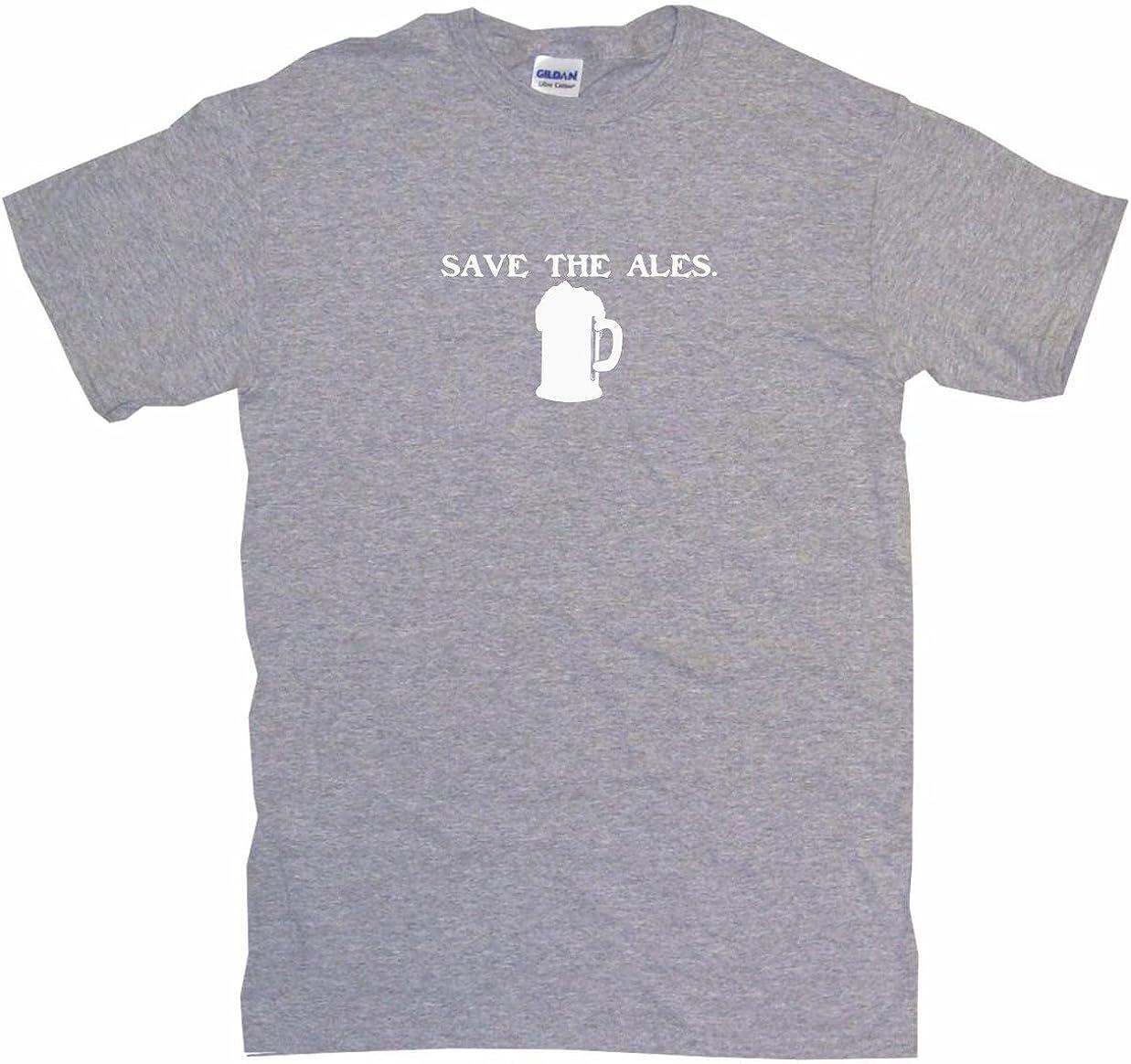 99 Volts Save The Ales Beer Mug Logo Womens Regular Fit Tee Shirt