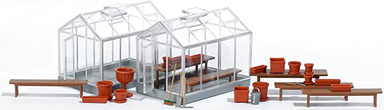 Busch 1400 Greenhouses 2/ HO Structure Scale Model Structure