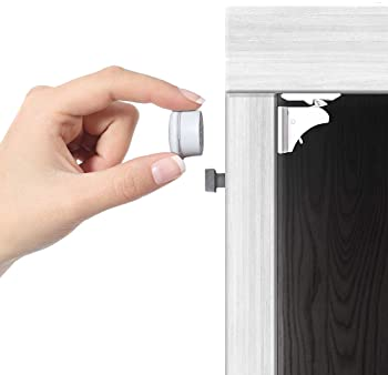 Jambini Magnetic Cabinet Locks - Child Safety Locks for Cabinets and Drawers - Drawer Locks Baby Proofing Cabinet Loc...