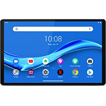 "Lenovo M10 FHD Plus - Tablet de 10.3"" Full HD/IPS (MediaTek Helio P22T, 4 GB de RAM, 64 GB ampliables hasta 256 GB, Android 9, WiFi + Bluetooth 5.0) Plata (Iron Grey)"