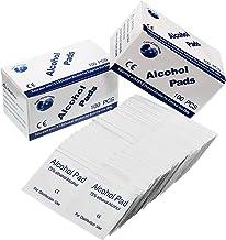 ARTIFUN 100 pcs//bo/îte Alcool Tampons 75/% Haute Efficace Portable Ext/érieur M/énage Premiers Soins Alcool Coton