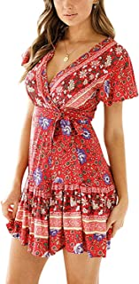 Best coral bohemian dress Reviews
