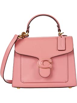 COACH Leather Covered C Closure Tabby Top-Handle 20,B4/Taffy