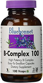 BlueBonnet B-Complex 100 By - 100 Vegetarian Capsules [Health and Beauty]