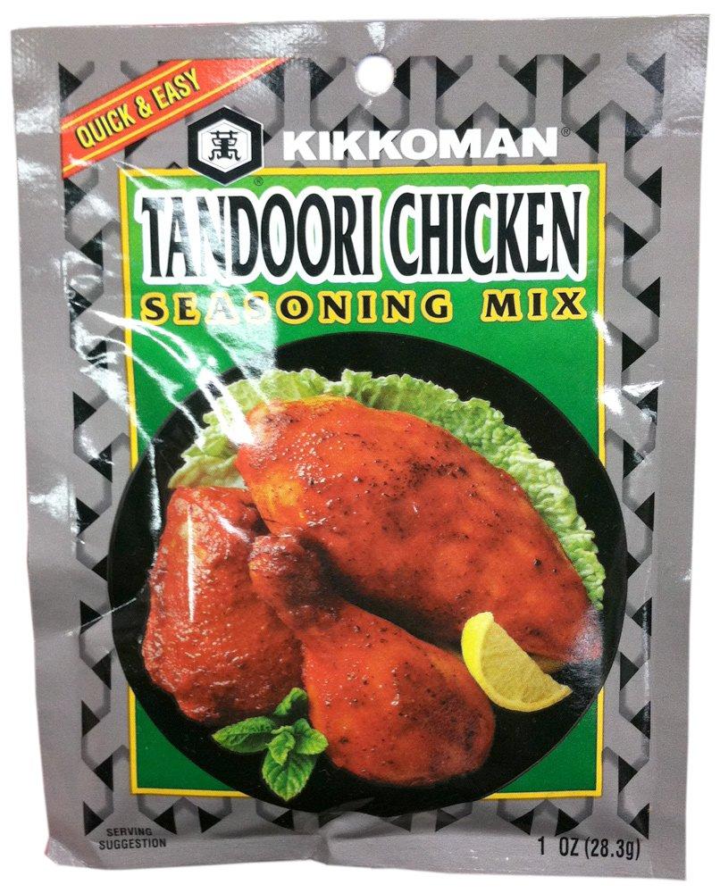 Kikkoman TANDOORI CHICKEN Cheap mail order sales Seasoning 1oz Pack Mix 6 Miami Mall