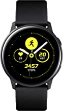 Samsung Galaxy Watch Active Smartwatch Bluetooth v4.2, 40 mm, con GPS, Sensore di Frequenza Cardiaca, Peso 25 g, Batteria 230mAh, Nero (Black) [Versione Italiana]