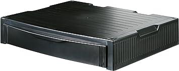 Han Monitor Stand Profi Monitorständer Mit 1 Schublade Stabil Schick Und Stapelbar Schwarz 9250 13 Bürobedarf Schreibwaren