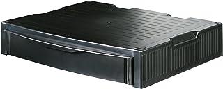 HAN MONITOR STAND, Profi Monitorständer mit 1 Schublade, stabil, schick und stapelbar, schwarz, 9250 13