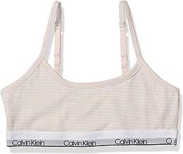Calvin Klein Girls' Little Kids Modern Cotton Bralette, Multipack & Single