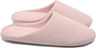 Women's Indoor Slippers,Memory Foam Washable Cotton Non-Slip Home Shoes