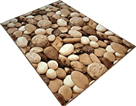 RK Carpet 5D Digital Stone Velvet Touch Carpet for Your Living Room Guest and Hall with 1 inch Thickness, 8 x 11 Feet(240 x 330 cm.) Multicolour