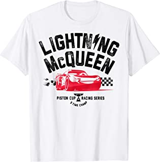 Pixar Cars 3 Lightning McQueen Ready Graphic T-Shirt