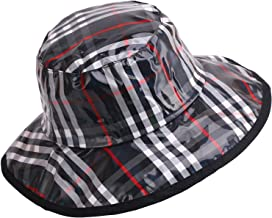 Women's Rain Hats Waterproof Rain Hat Wide Brim Bucket Hat Rain Cap