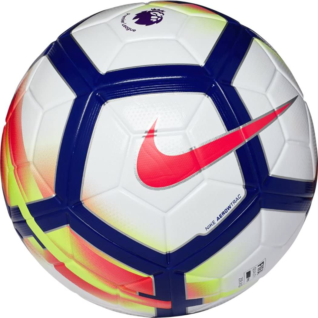 Amazon Com Nike Ordem V Ball Unisex Adult White White Laser Orange Black Black 5 Sports Outdoors