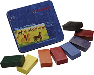 Stockmar Beeswax Block Crayons - 8 Standard Colours in a Tin