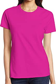 Miracle TM Neon Color Athletic Wicking T Shirts - Adult High Visibility Neon Shirts for Men and Women