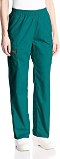 Dickies Womens 86106 Signature Elastic Waist Scrubs Pant Medical Scrubs Pants - Green - Small