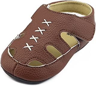 Z-T FUTURE Baby Boys Girls Sandals PU Leather Rubber Sole Anti-Slip Summer Toddler First Walkers