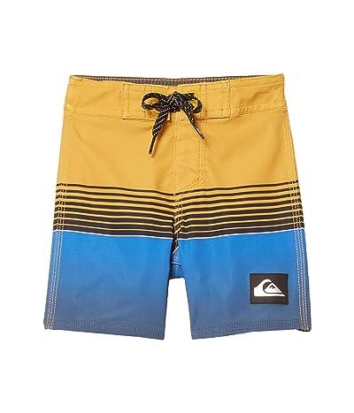 Quiksilver Kids Highline Slab 14 Boardshorts (Toddler/Little Kids) (Misted Yellow) Boy