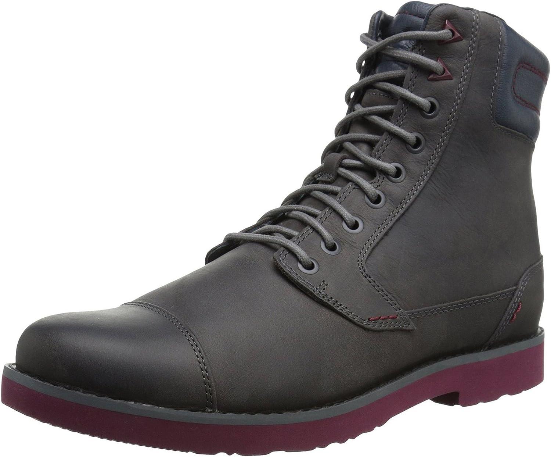 Losver Fashionable Men's Mason Leather Casual Boot