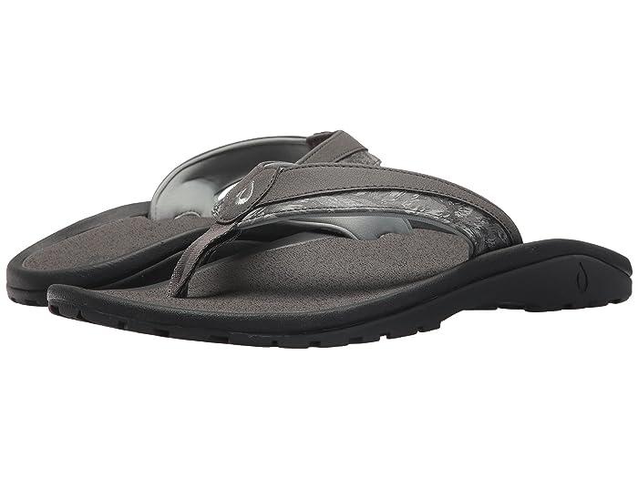 'Ohana Koa  Shoes (Charcoal/Dive Camo) Men's Sandals