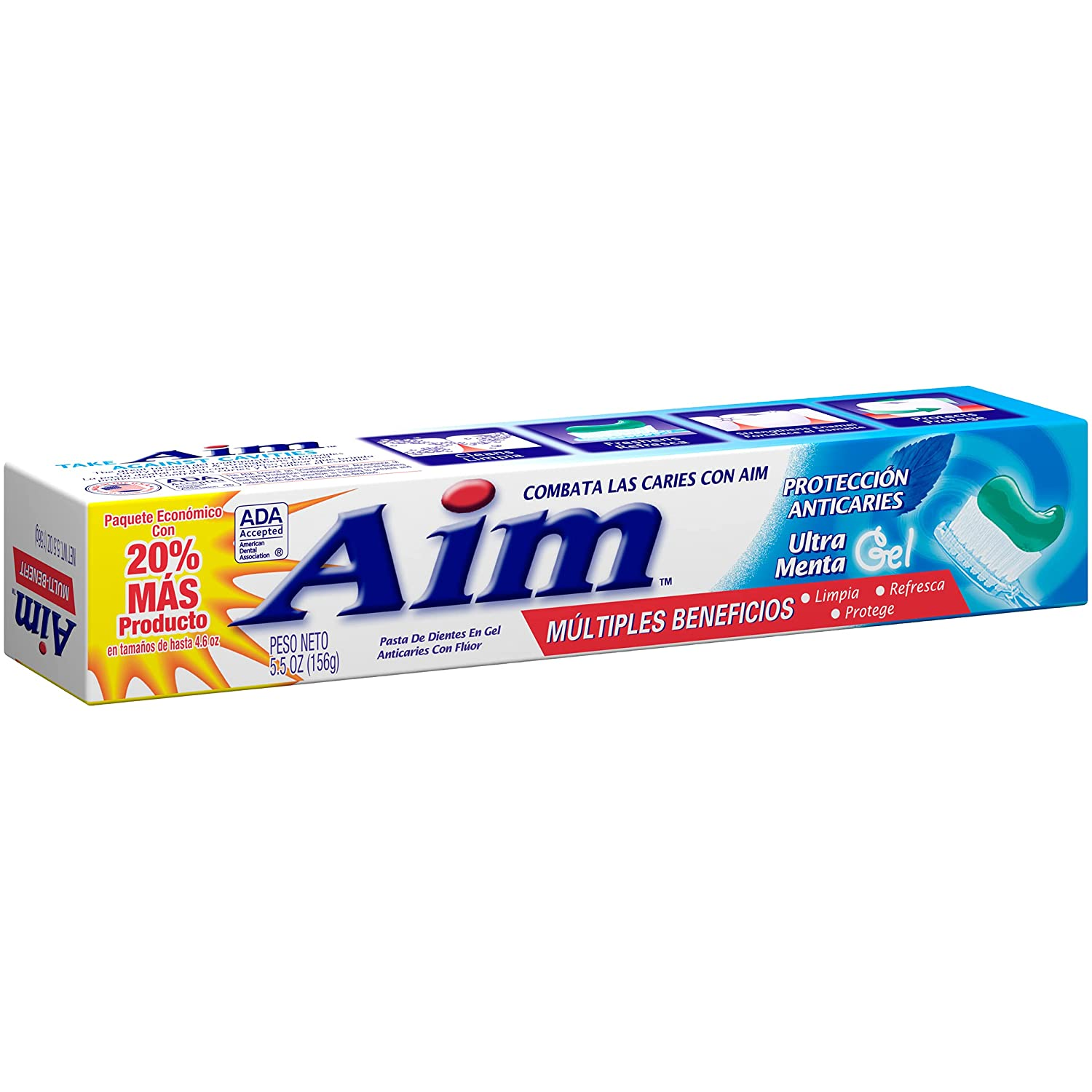 Aim Cavity Protection Direct sale of manufacturer Anticavity Fluoride Special Campaign Mint Toothpaste Ultra
