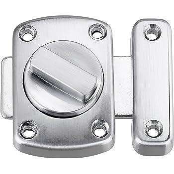 Chrome Plated Bathroom Door Lock Cabinet Cupboard Door Bolt Catch Latch
