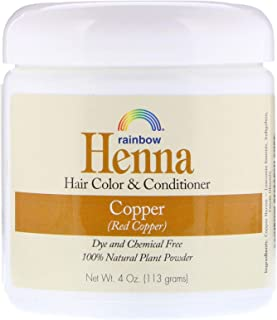 Rainbow Research Henna Copper 4 Ounces (4 Pack)