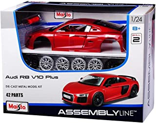1: 24 Al Audi R8 V10 Plus (Colors May Vary)