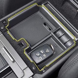 HCDSWSN Volante in Pelle Nera Rossa per Cucire a Mano Avvolgere la Copertura del Volante dellautomobile per Land Rover Range Rover Evoque 2012-2016