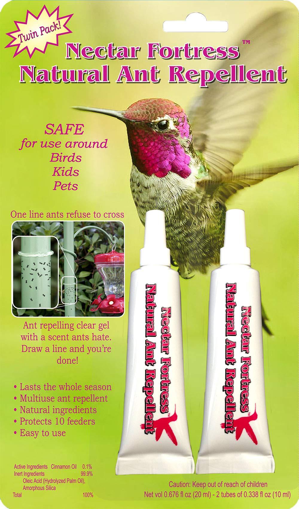 Sapphire Labs SLHFF Hummingbird Feeder Fresh Nectar Defender