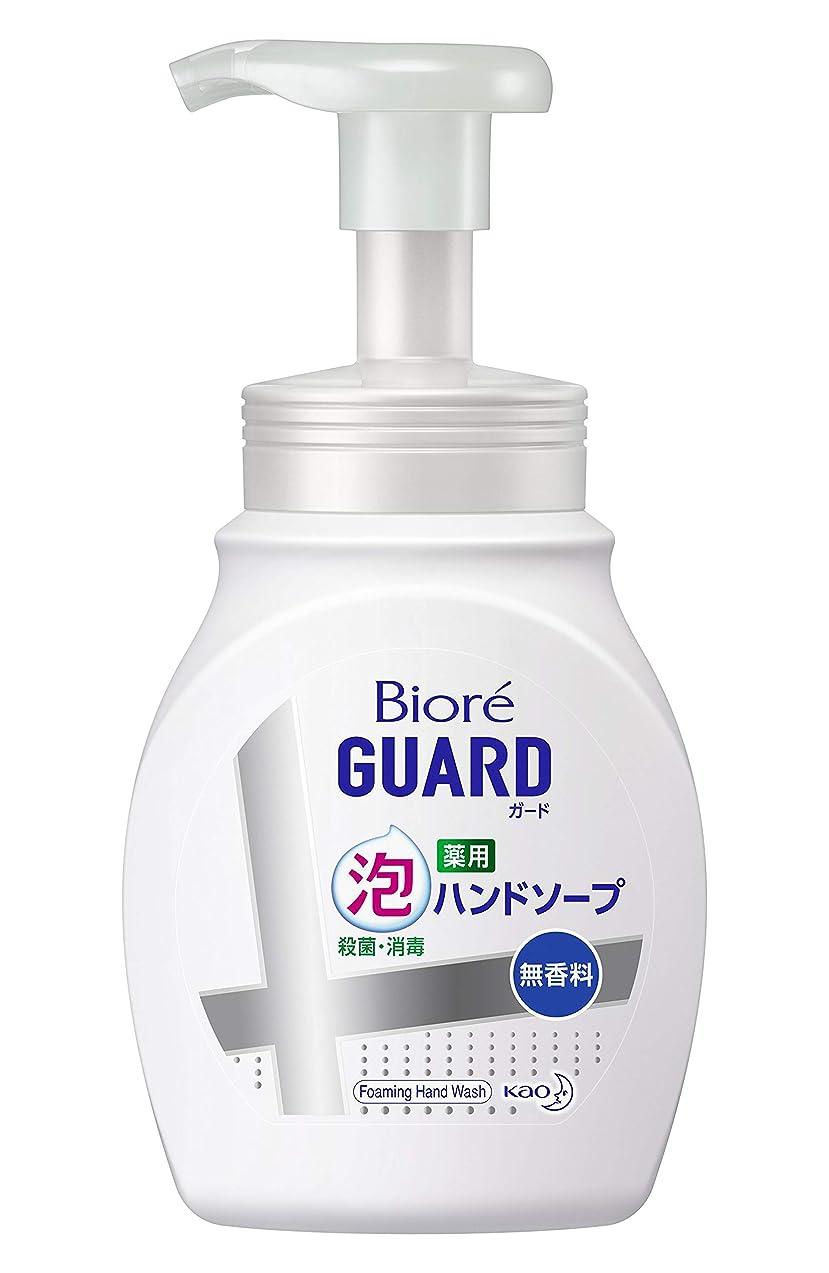 繊細閉じる自発的ビオレガード薬用泡ハンドソープ 無香料 ポンプ 250ml