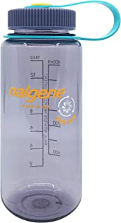 Nalgene Sustain Tritan BPA-Free Water Bottle Made with Material Derived from 50% Plastic Waste, 16 OZ, Wide Mouth