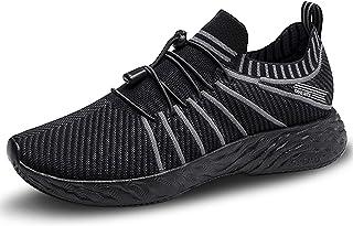 Lixada Scarpe da Corsa da Uomo Traspirante Leggero Sneaker da Ginnastica per Il Fitness Tennis Palestra Jogging, Taglia UE...
