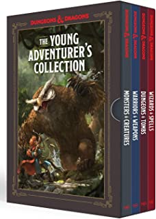 The Young Adventurer's Collection [Dungeons & Dragons 4-Book Boxed Set]: Monsters & Creatures, Warriors & Weapons, Dungeon...