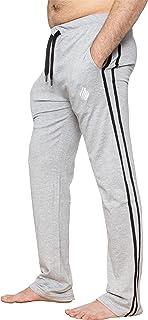 EZLP586 Enzo Mens Lounge Pants Pyjama Bottoms Elasticated Waist Sleep Nightwear Striped Trousers PJ Soft Jersey Loungewear...