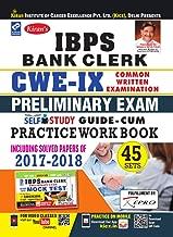 Kiran IBPS Bank Clerk CWE IX Preliminary Exam Self Study Guide Cum Practice Work Book English(2681)