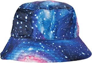 ZLYC High Quality Galaxy Bucket Hat Fisherman Outdoor Cap for Men Women