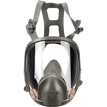 3M Maschera pieno facciale serie 6900 ideale per vapori saldatura misura LARGE