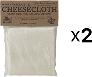 Regency Wraps Regency Natural Ultra Fine 100% Cotton Cheesecloth 9sq.ft (2)