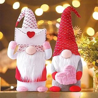 Sponsored Ad - List 2-Pack Valentines Gnomes Plush Decorations -Valentines Day Mr & Mrs. Handmade Gnomes Plush Doll Orname...