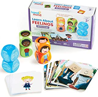 Learning Resources 92868 Learn About Feelings Activity Set Explore Feelings & Practise Social-Emotional Skills, Ages 3+