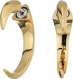 Vince Camuto Horn Hoop Earrings
