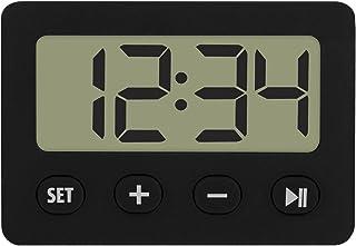 TFA Reloj Despertador Digital Negro