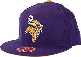 Mitchell & Ness Minnesota Vikings NFL, Throwback Fitted Hat, TK03, Purple